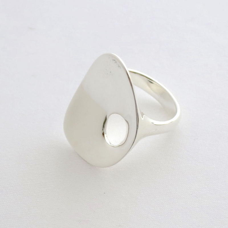 Ring Ovalo Silver 01