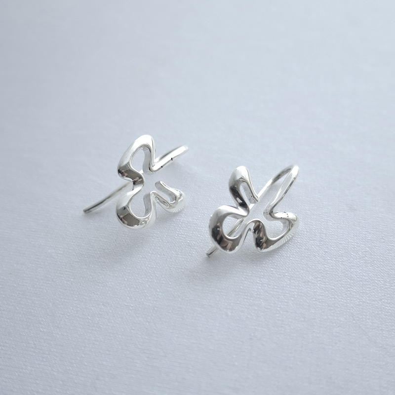 Earrings Poema Silver 01