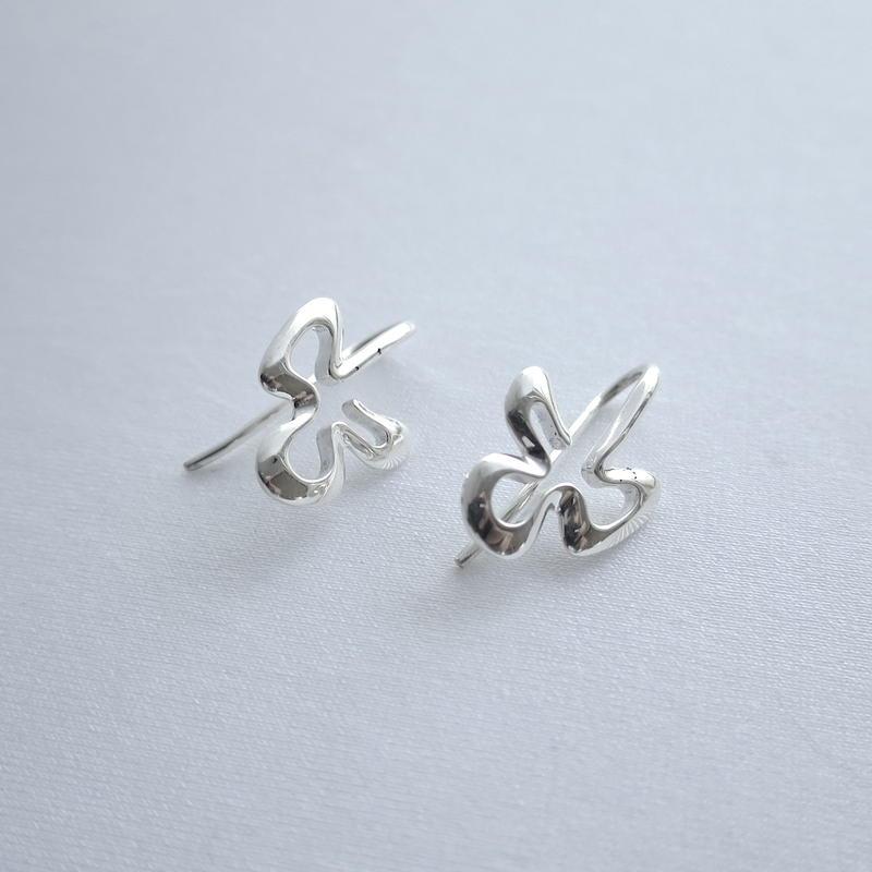 Earrings Poema Silver 01