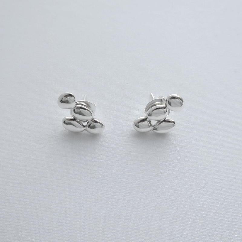 Earrings Ainda Silver 01