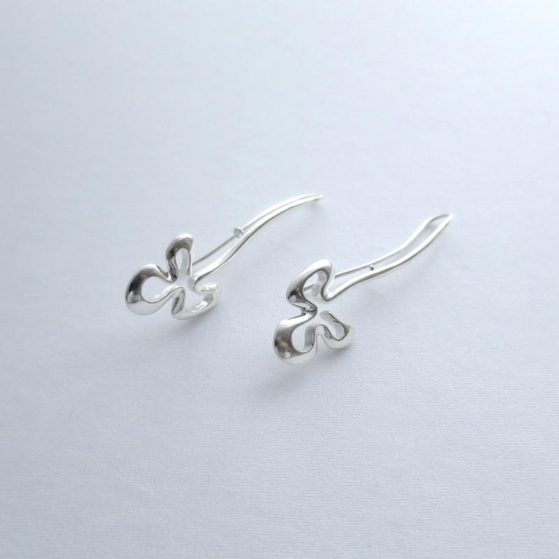 Earrings Poema Silver 02