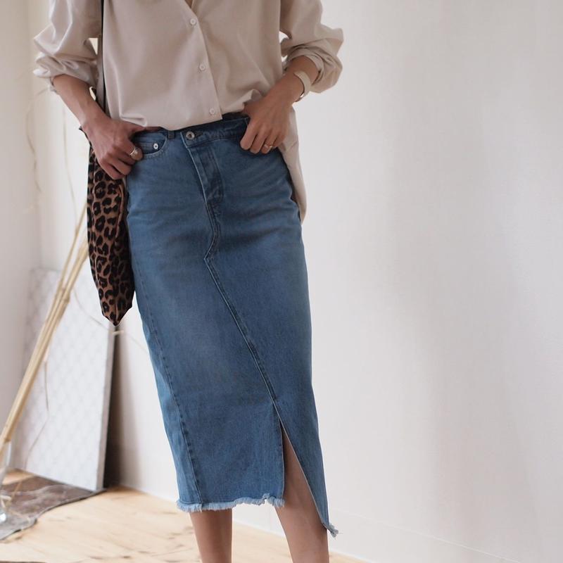 リメイクデニム スカート