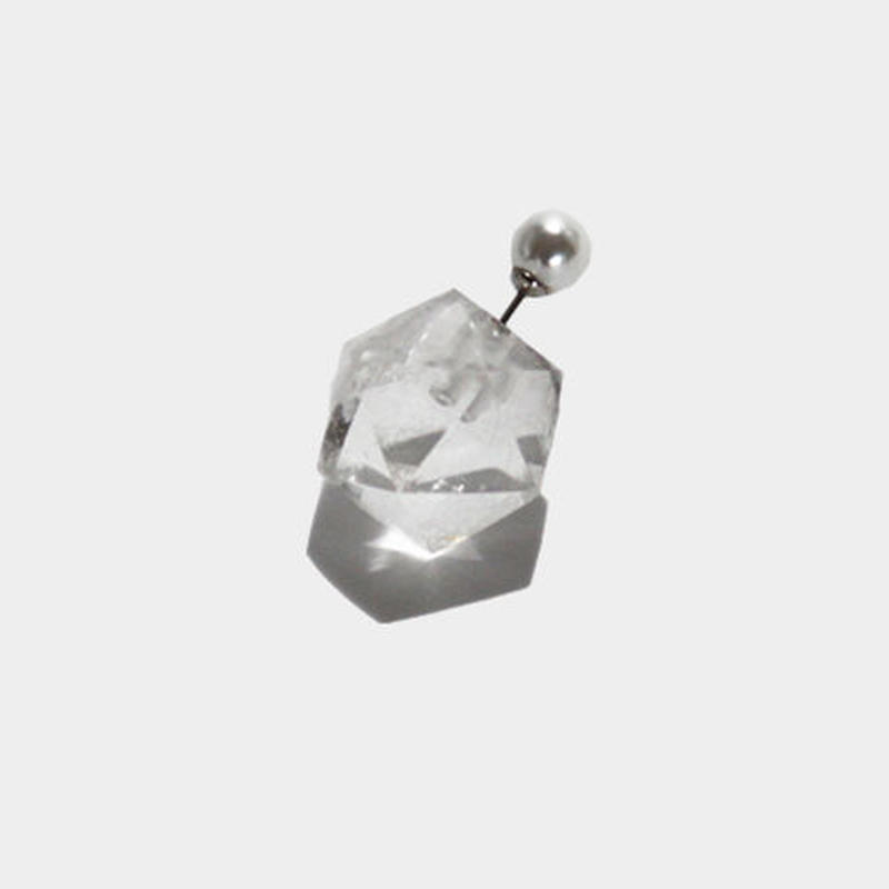 QUARTS icosahedron cut【pierce catch】