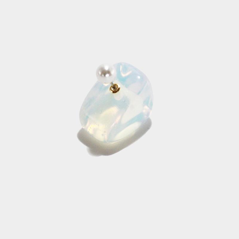 OBSIDIAN OPAL【pierce catch】