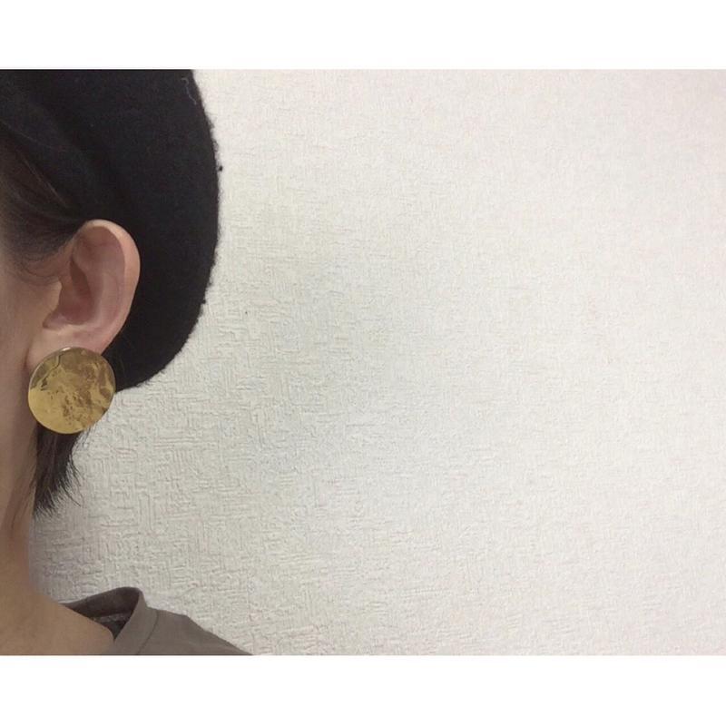 ear-3 真鍮イヤリングーmigakiー