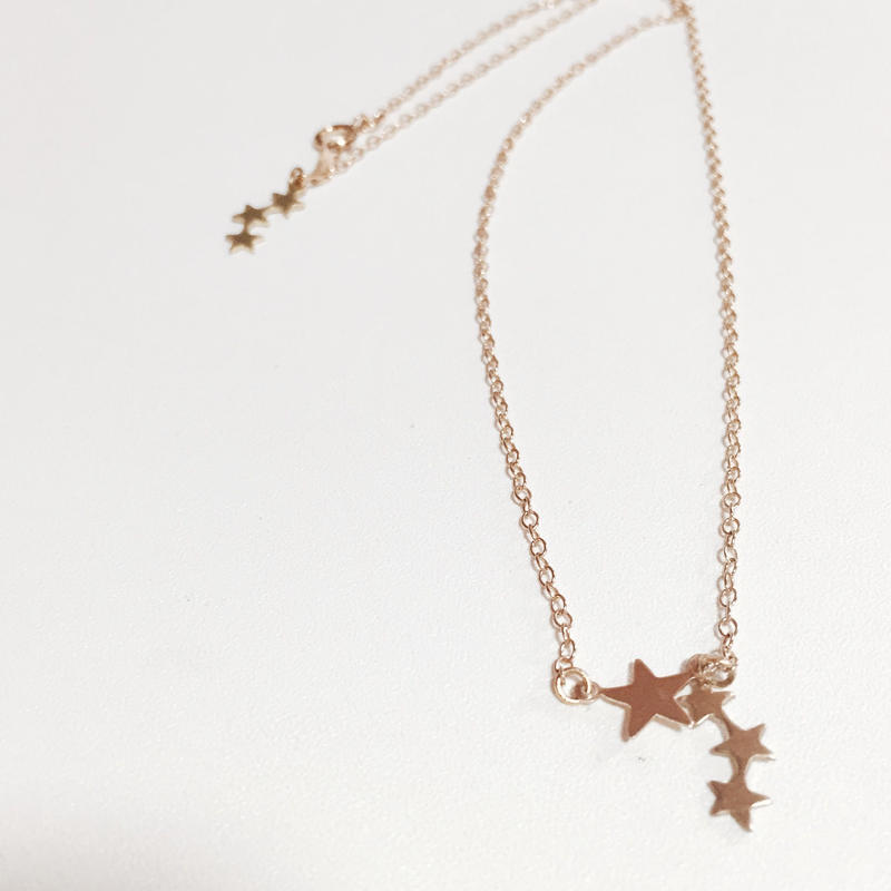 nc-4  star necklace.