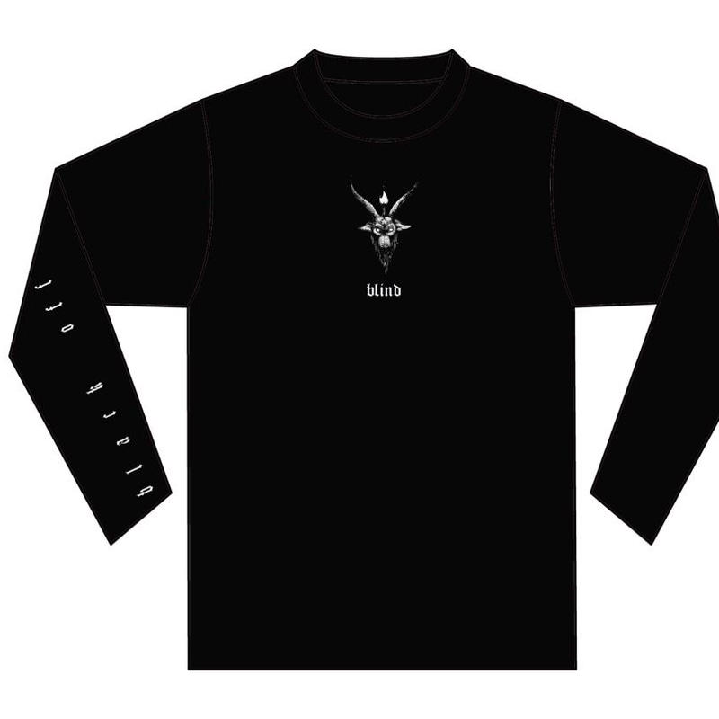 GEZAN//BLACK OFF LONG T-Shirts