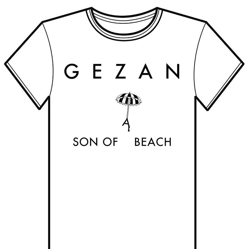 「SON OF A BEACH」 T-shirt