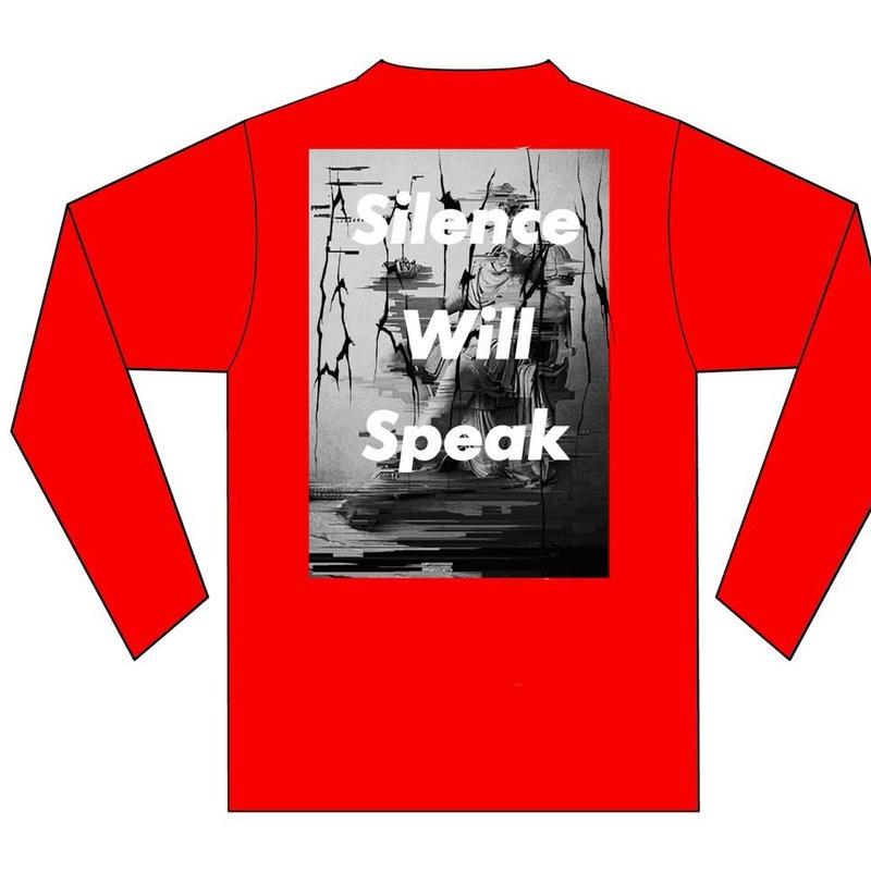 GEZAN//Silence Will Speak LT(Red/White)