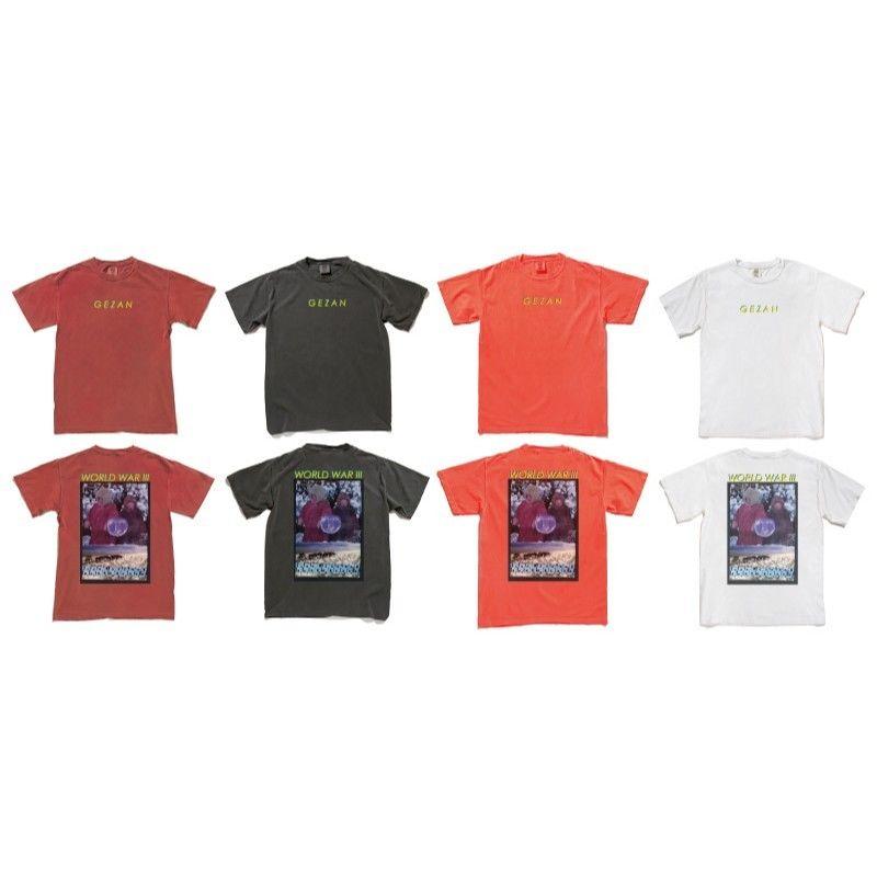 GEZAN//World WarThree T-shirts