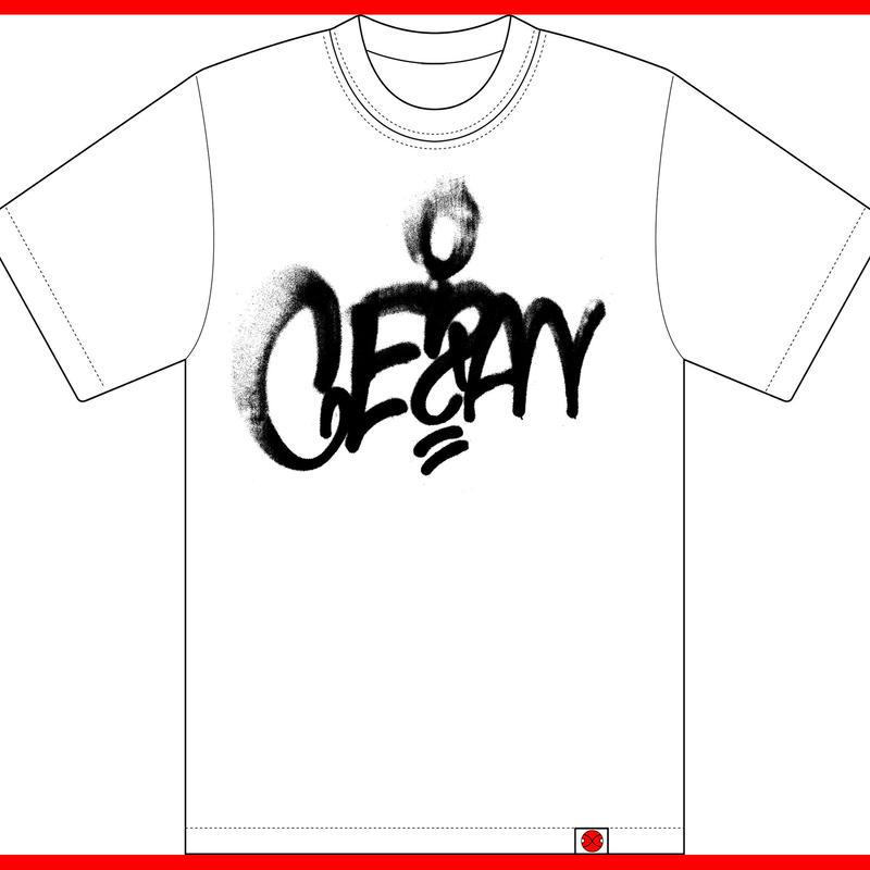 GEZAN Graffiti logo T-shirt