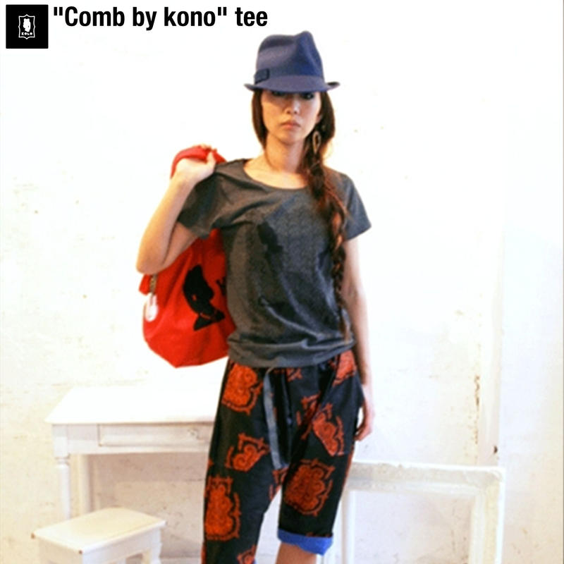 Tシャツ Comb by kono Tee