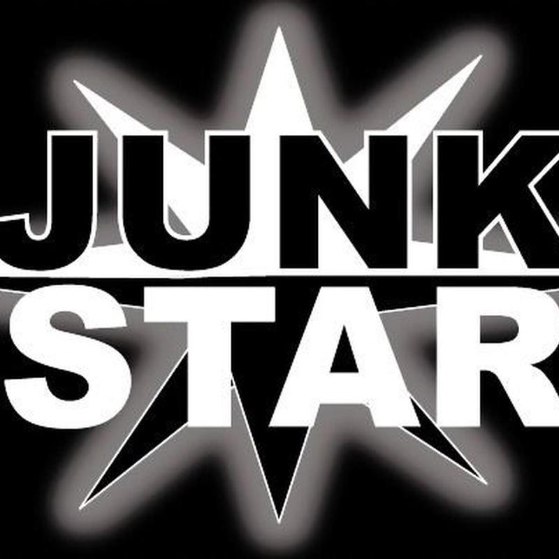 JUNK STARステッカー