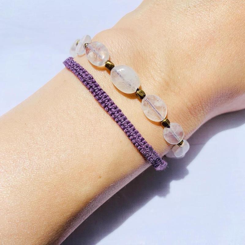 Moonstone  fringe bracelet