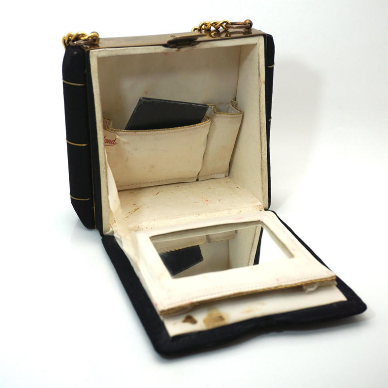 Maybe 30s Vanity purse Black