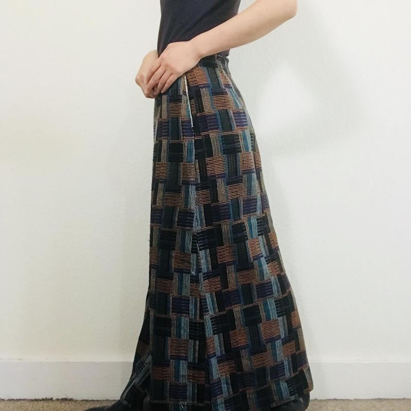 1970s Maxi Skirt