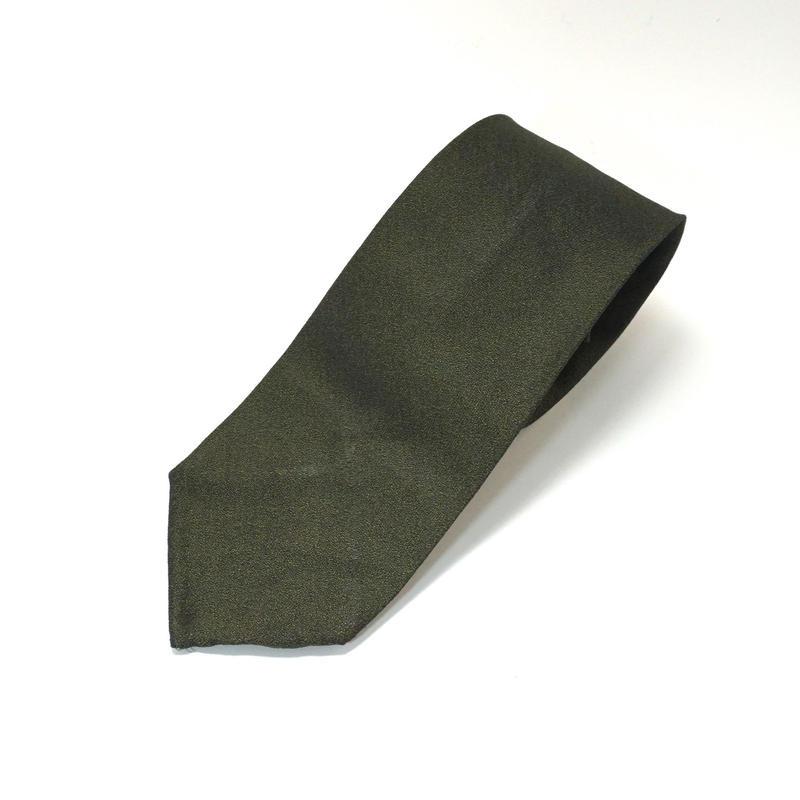 《送料無料》Vintage 60s Polyester Green Tie (no.323)