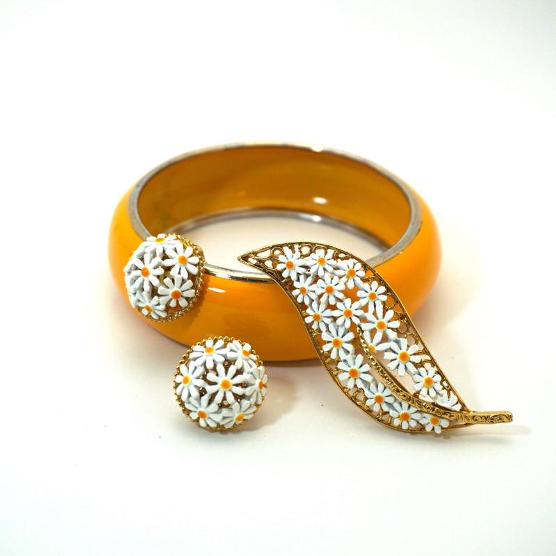 Vintage Bangle  Yellow / Gold《送料無料》