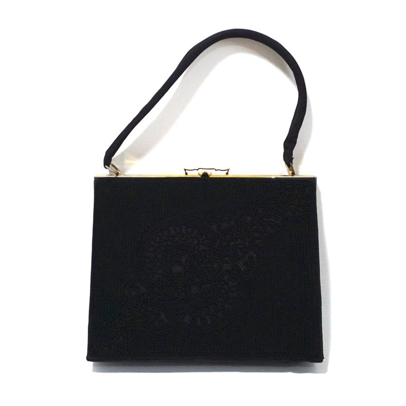 1950s  Evening Purse Black
