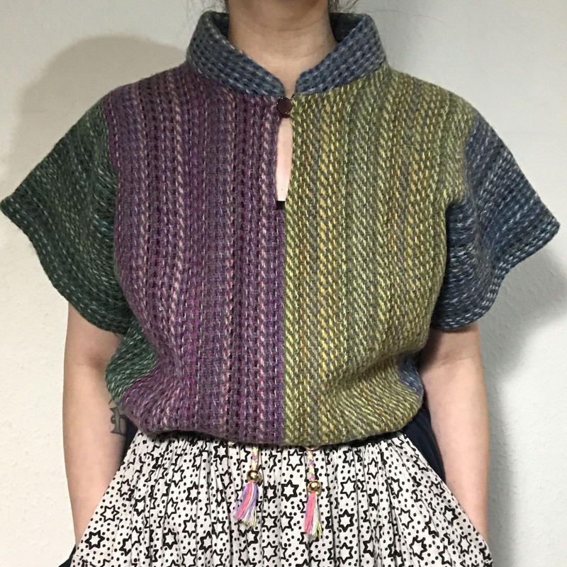 Multi color Knitting top  (no.207)