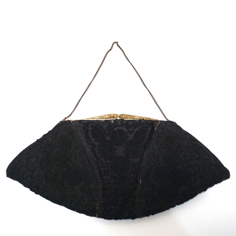 Edwardian Evening Purse Black