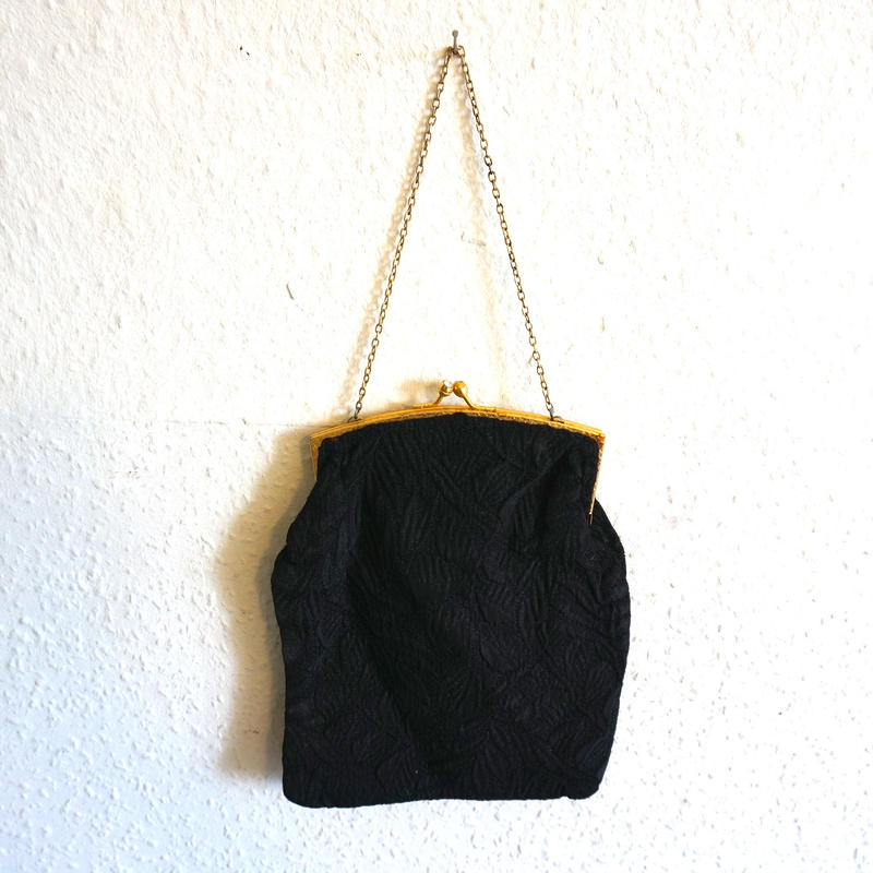 Victorian Evening purse Black