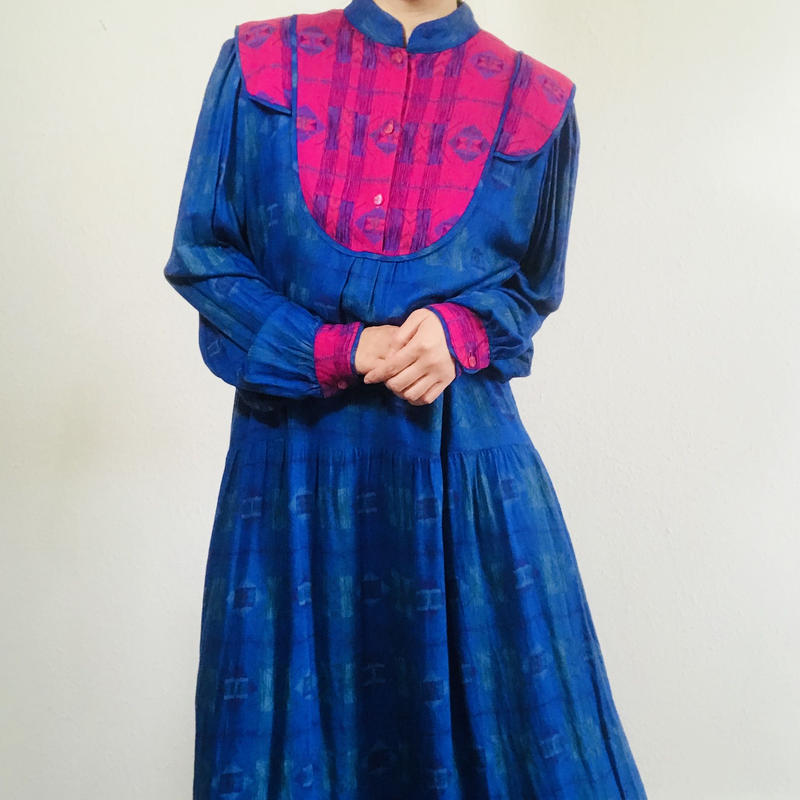 1970s Monsoon Dress