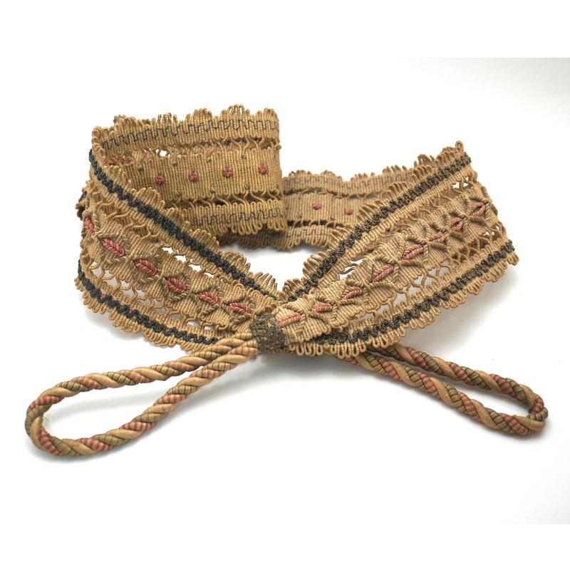 Lace Belt / Curtain tassel  《送料無料》
