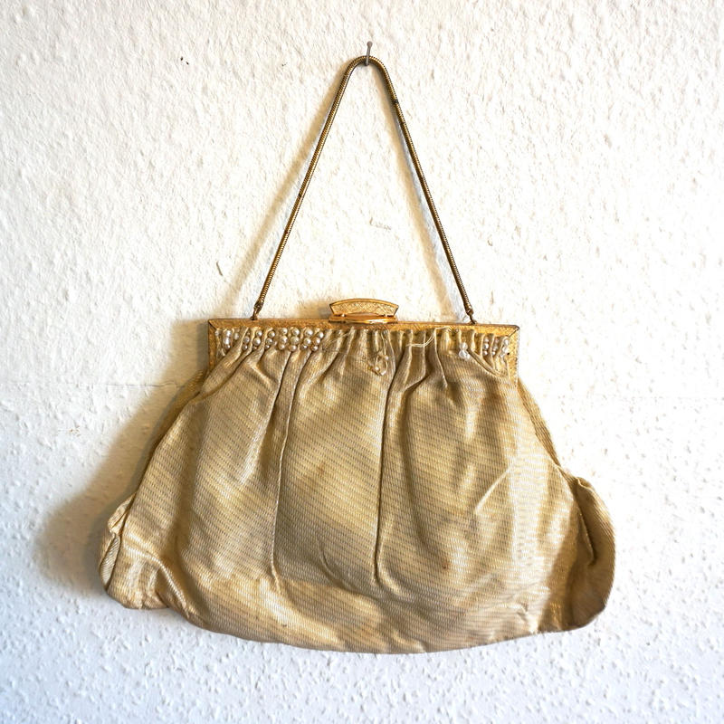 Victorian Evening purse Gold
