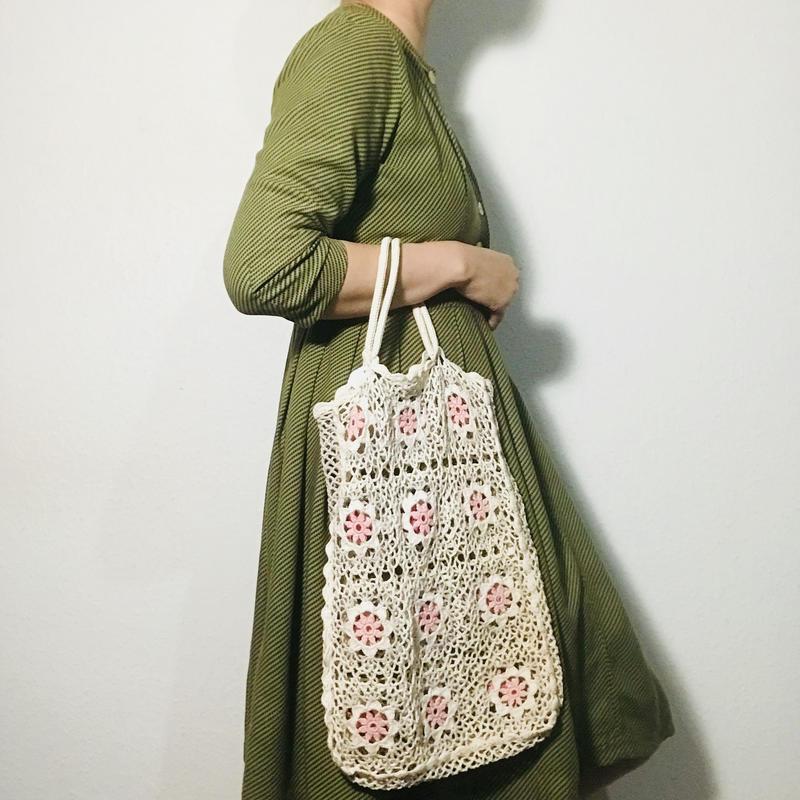Vintage Crochet Bag