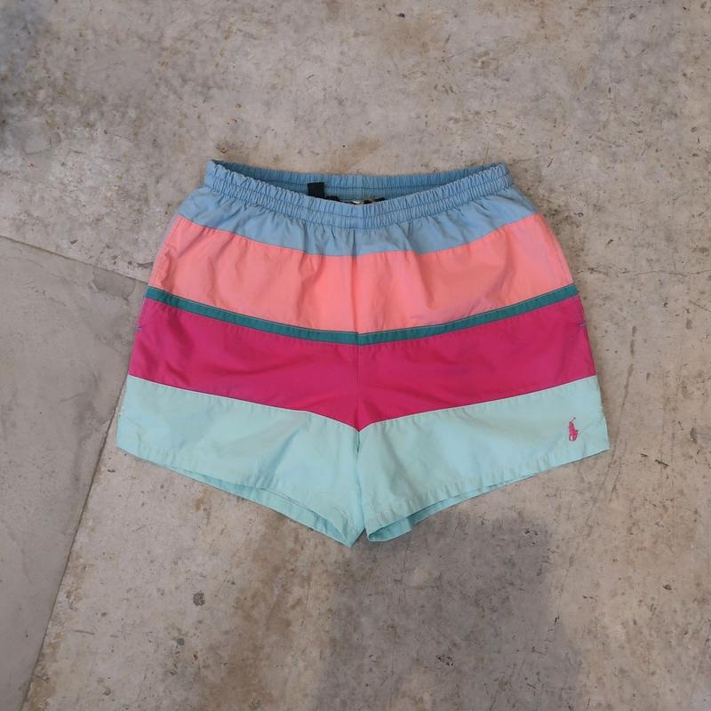 80's Ralph Lauren Swim Shorts For Women