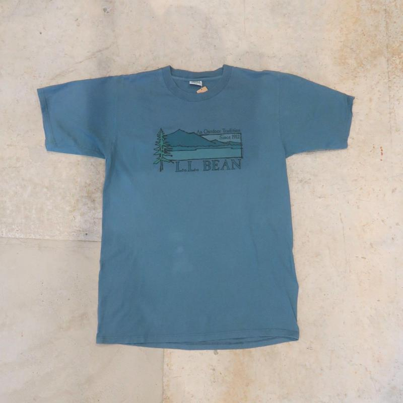 90's L.L.Bean Logo Tee Made in USA