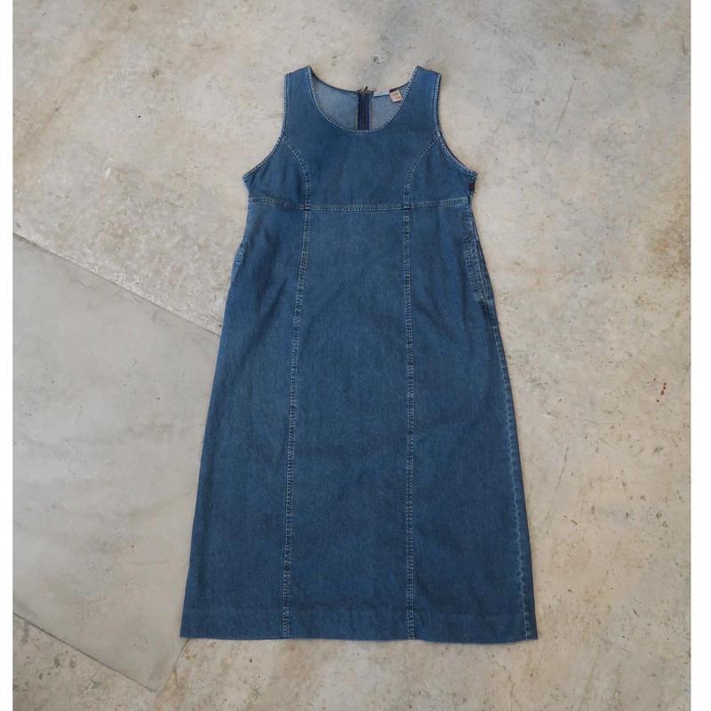90's Woolrich Denim Onepiece For Women