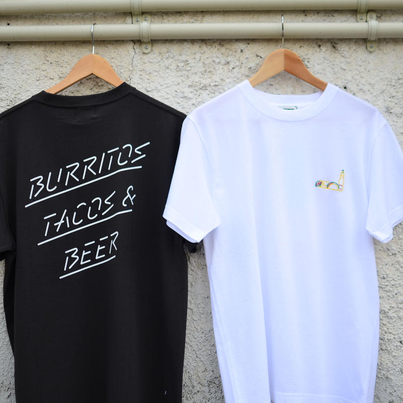 BURRITOS TACOS&BEER TEE (RUTSUBO×ALLRAID)