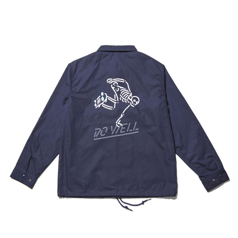 DO WELL COACH JACKET (RUTSUBO×ALLRAID)