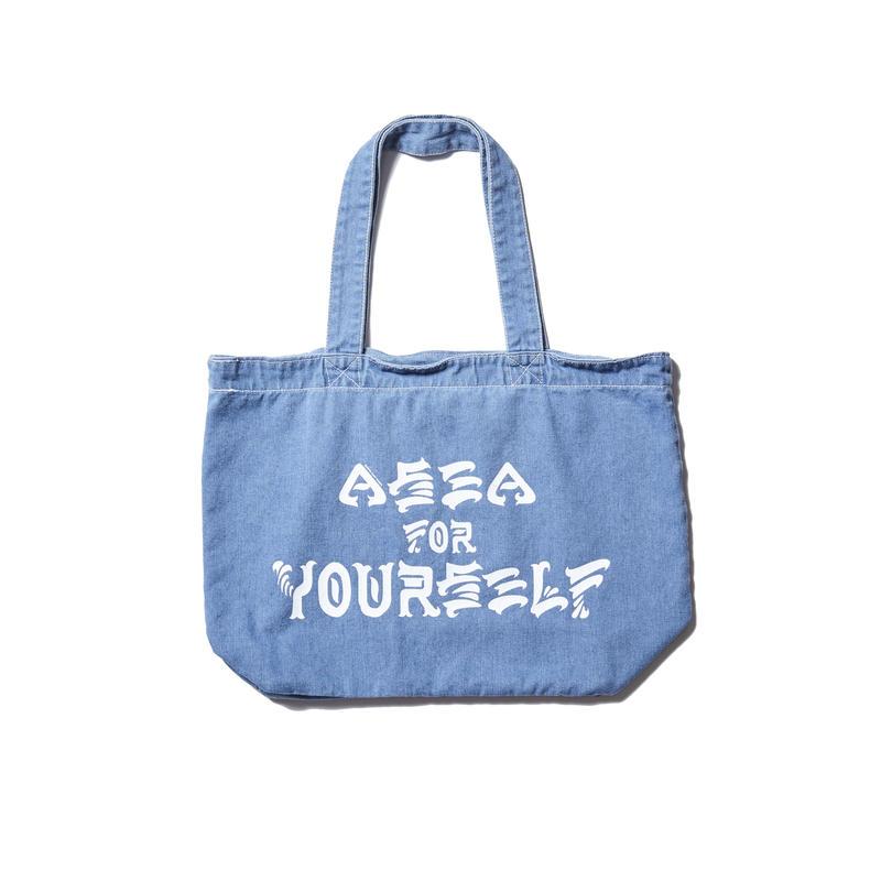 A SEA FOR YOURSELF TOTE BAG (RUTSUBO×MHAK)