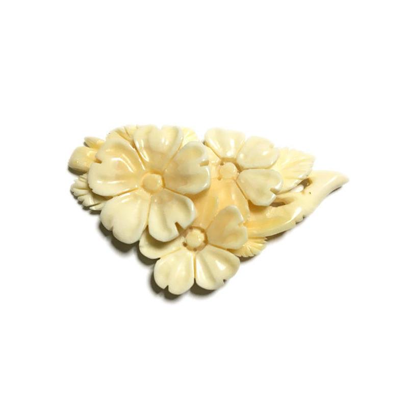 泉舟 作 鯨歯パーツ 桜の花 4730