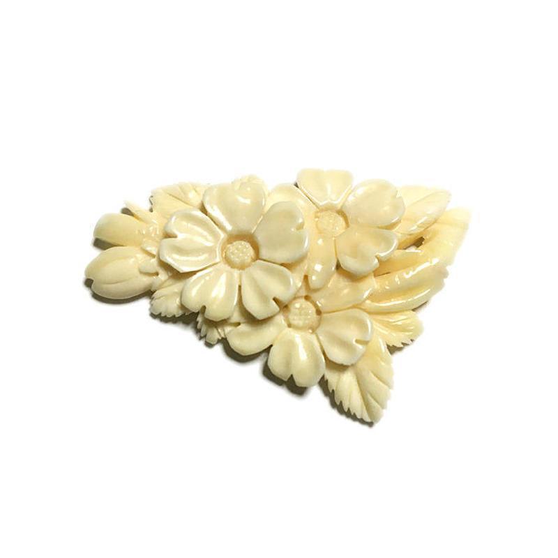 泉舟 作 鯨歯パーツ 桜の花 4531
