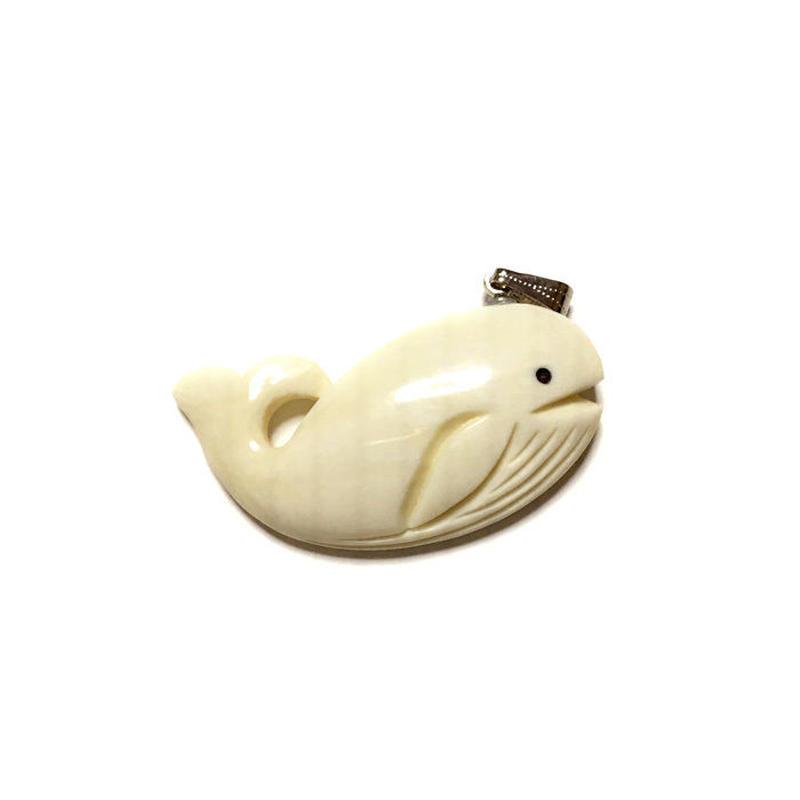 泉舟 作 鯨歯ペンダント ナガスクジラ