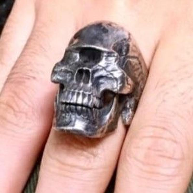 【即納可能! サイズ#18号】 Cyclops skull ring / Subspecies