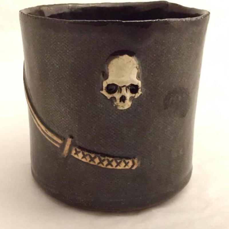 ドクロマグカップ~日本刀と髑髏~(販売終了)