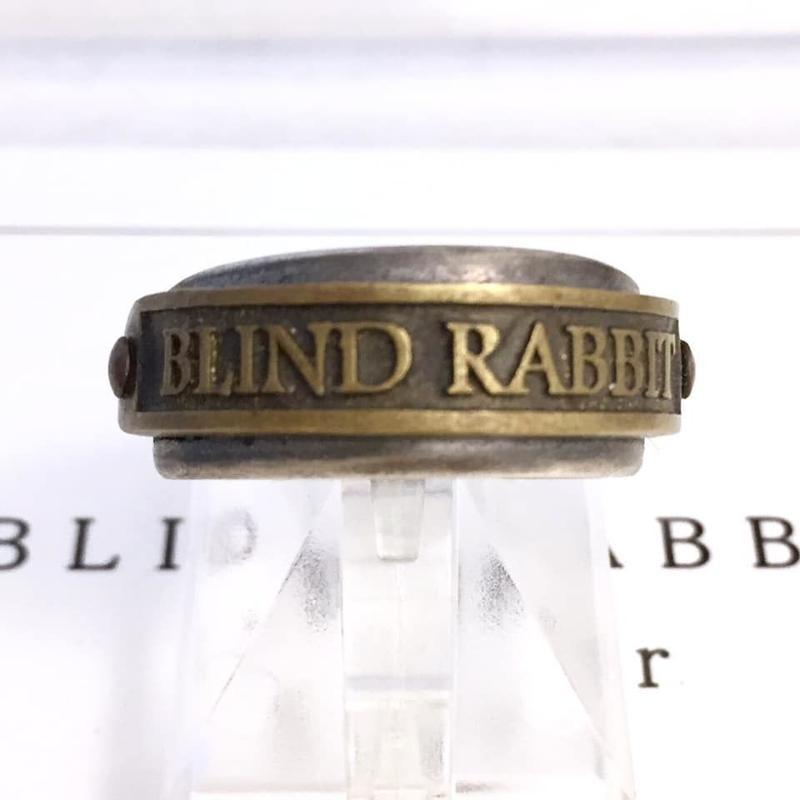 【10/28までの期間限定】Ring BLINDRABBIT[BLIND  RABBIT]