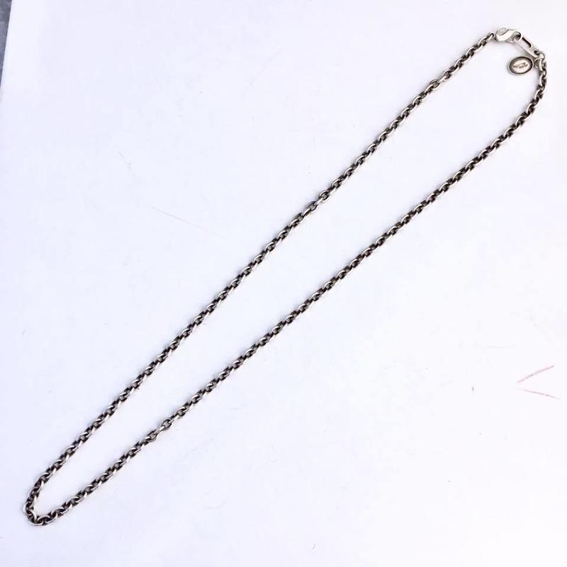 シルバー50cmチェーン(大) [Vallucina]