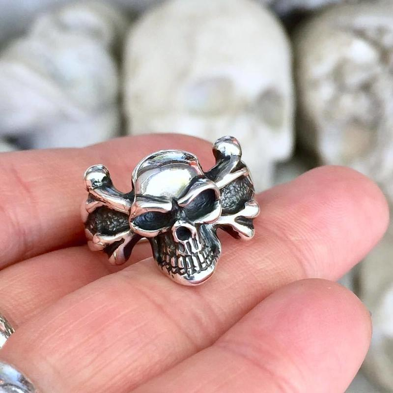 【サイズ#22.5号即納可能!】Small  Pirates Ring
