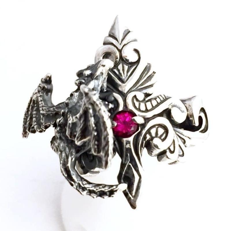 魔法のリングとドラゴン[林檎屋]