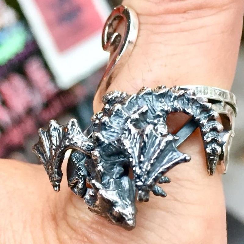 指のりドラゴンリング[林檎屋]