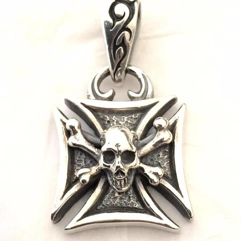 Maltese Cross Pendant (Normal)
