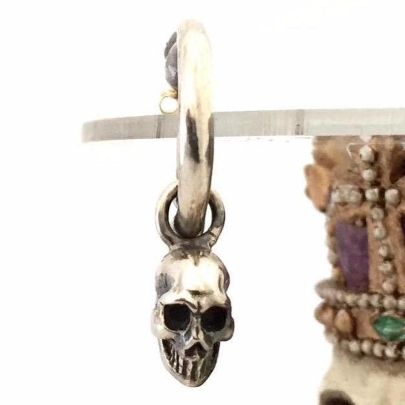Skull Charm Pierce