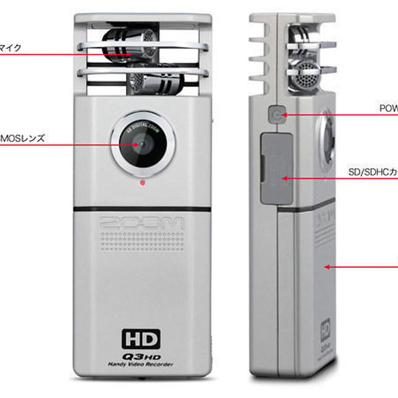 ZOOM ズーム Handy Video Recorder Q3HD