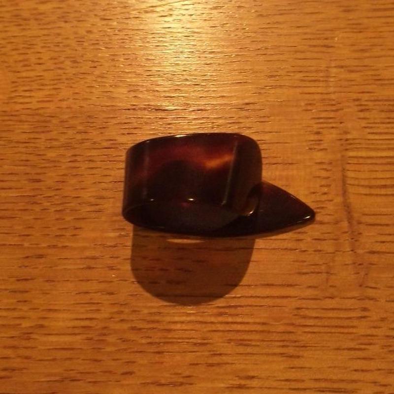 べっ甲ピック Tortoise Pick サム(M) Thumb Pick(Medium)